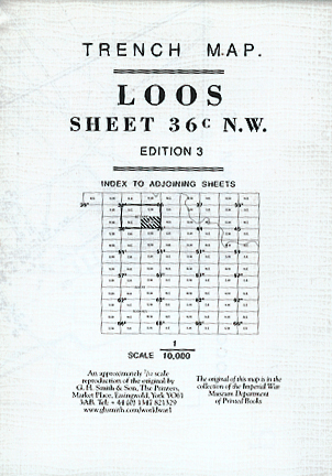 Loos Sheet 36C N.W. 3 & Part of 1