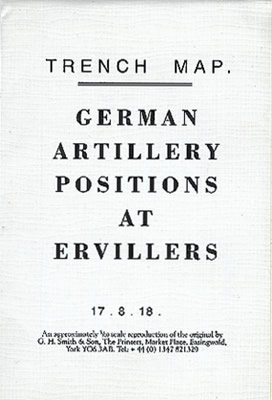 German Artillery Positions at Ervillers (loc.39)